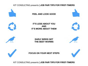 job-fair-tips-for-first-timers-kit-consulting-infographic